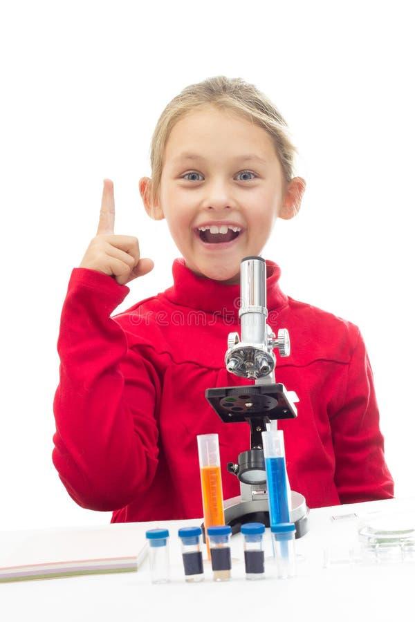 Junger Wissenschaftler lizenzfreie stockfotografie