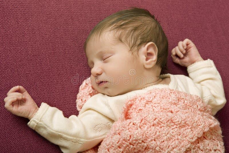 Junges Baby stockfotografie