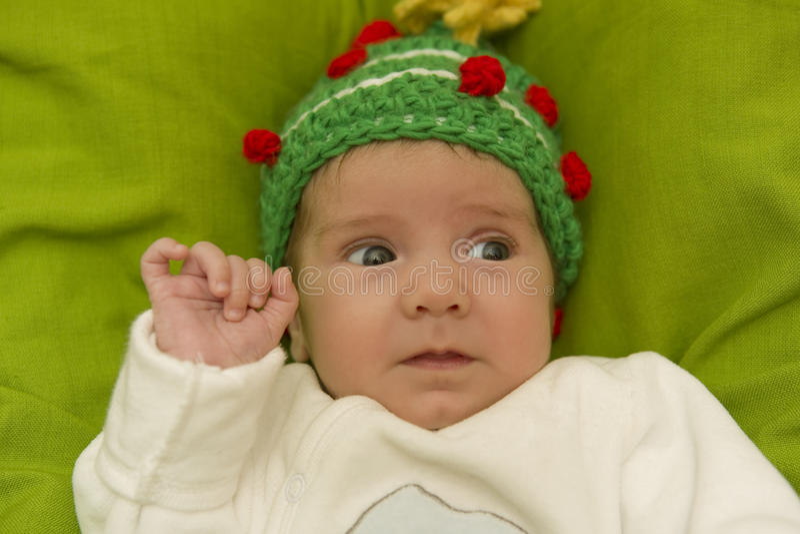 Junges Baby lizenzfreie stockfotos