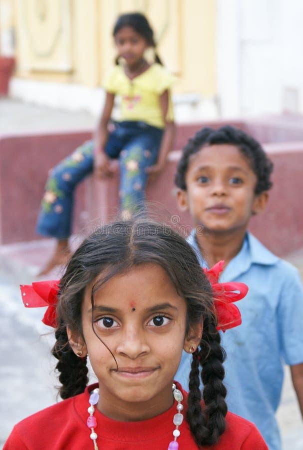 junges Erzeugung von Indien stockfotos