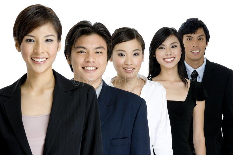 Junges Geschäfts-Team lizenzfreie stockbilder