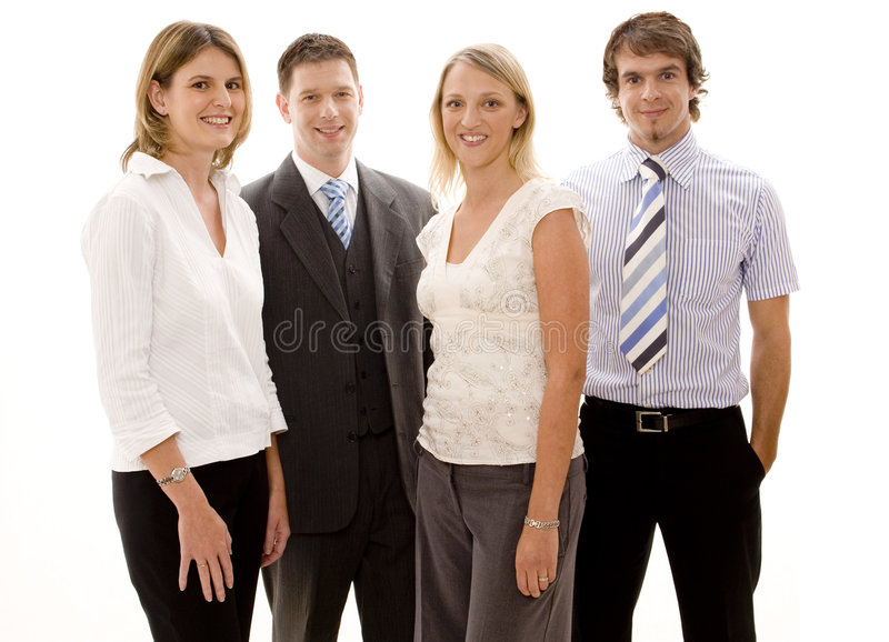 Junges Geschäfts-Team stockbilder