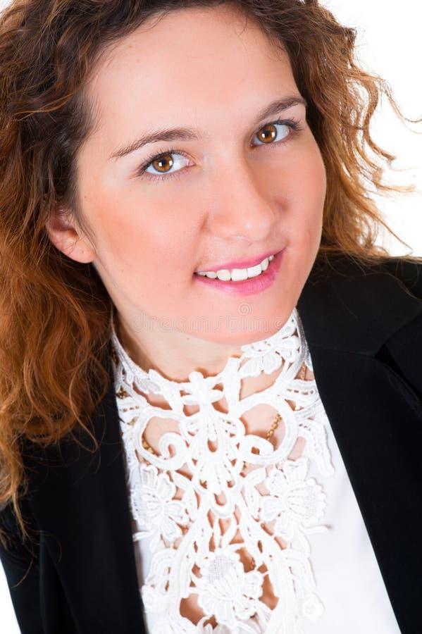 Junges Geschäftsfrauportrait lizenzfreies stockfoto