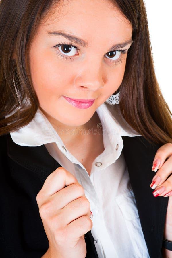 Junges Geschäftsfrauportrait stockfotografie