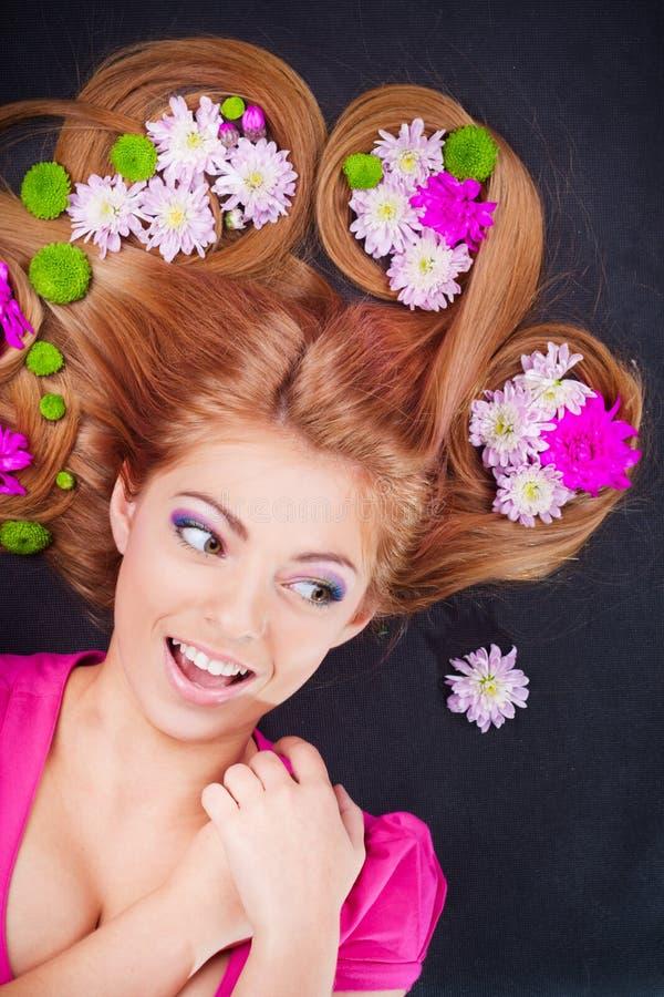 Junges hübsches Mädchenportrait lizenzfreies stockbild