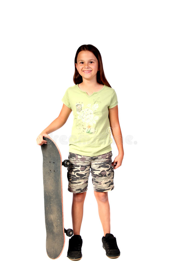 Junges Mädchen 1 lizenzfreies stockfoto