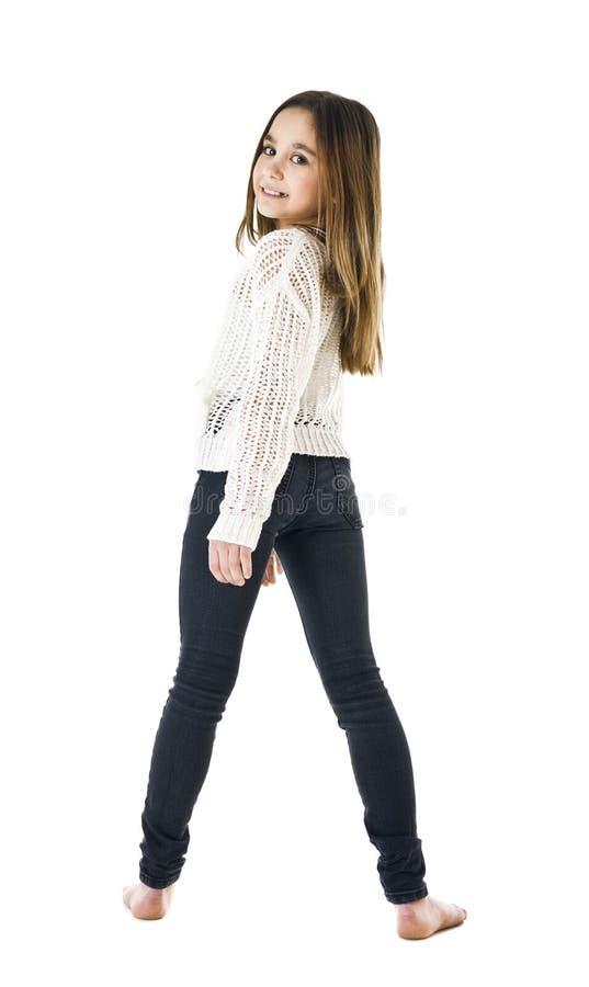 Junges Mädchen-Porträt lizenzfreies stockbild