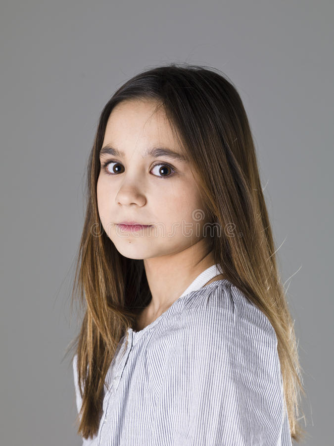 Junges Mädchen-Porträt lizenzfreie stockfotografie