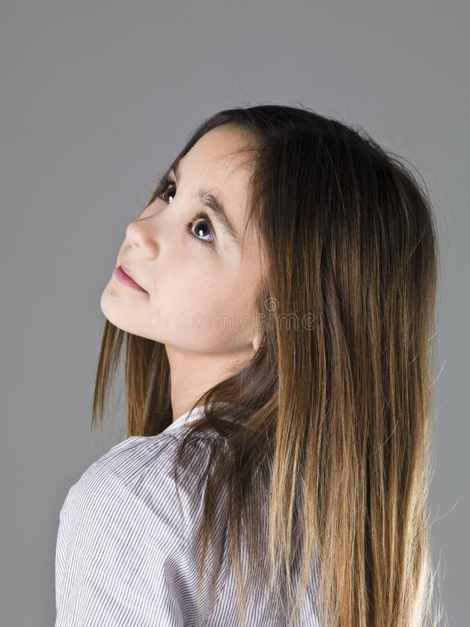 Junges Mädchen-Porträt stockfotos