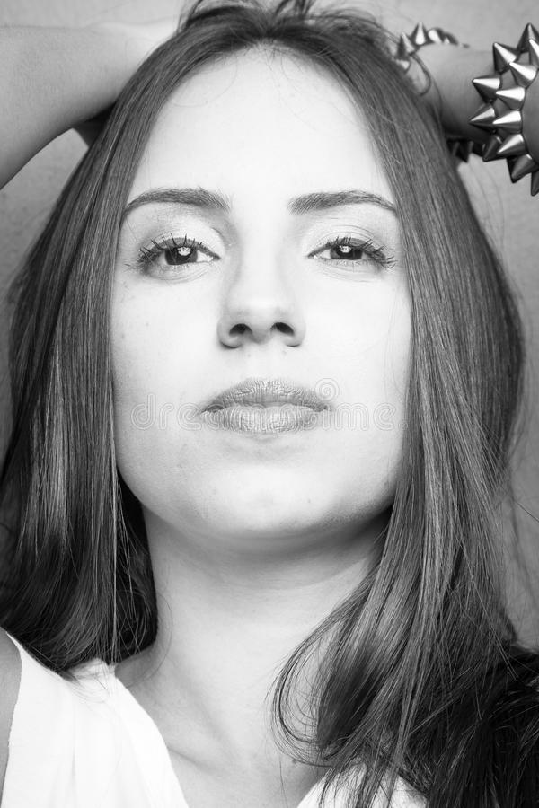 Junges Mädchen-Porträt stockfoto