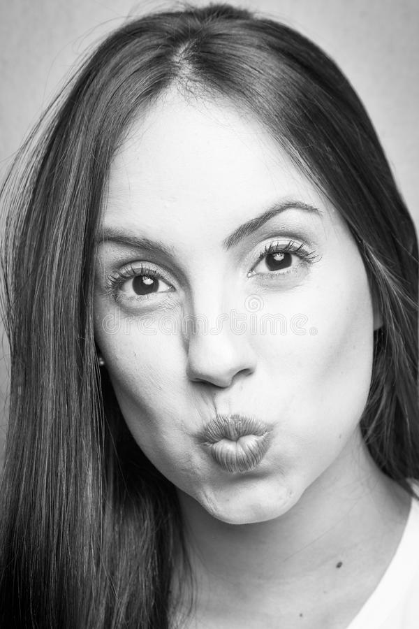 Junges Mädchen-Porträt lizenzfreies stockfoto
