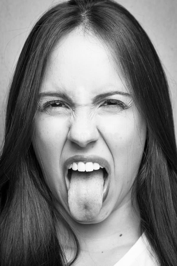 Junges Mädchen-Porträt lizenzfreie stockfotos