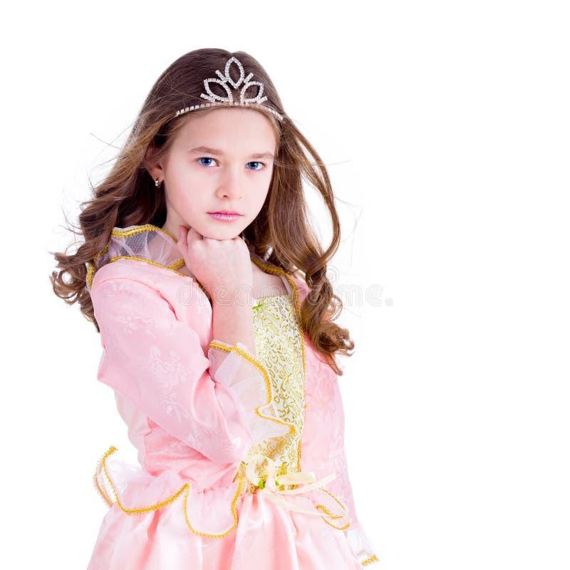 Junges Mädchen - Prinzessin stockbilder