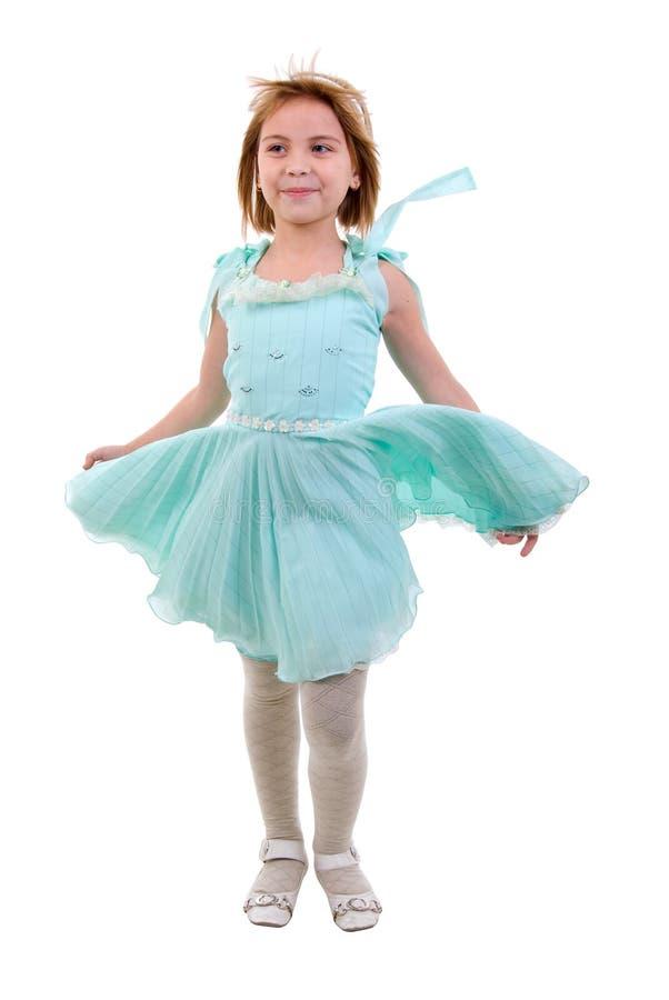 Junges Tänzer-Mädchen. lizenzfreies stockbild