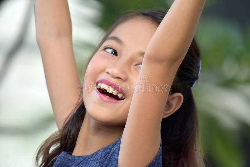 Junges Tween und Freiheit lizenzfreie stockbilder