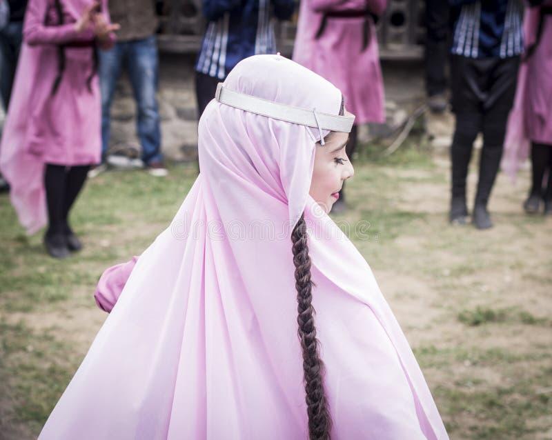 Junges Wein-Festival in Tiflis stockfotografie