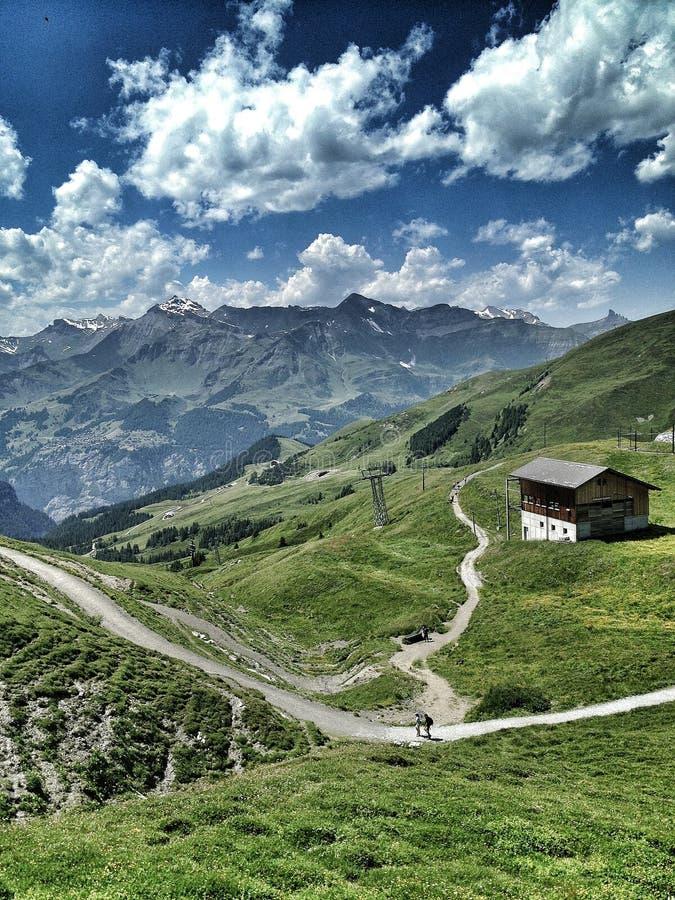 Jungfrau Austria obrazy royalty free
