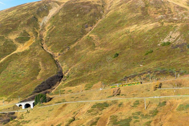 Jungfrau famoso Bahn foto de stock royalty free