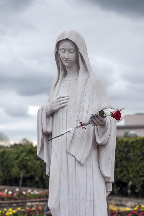 Jungfrau Maria lizenzfreie stockbilder