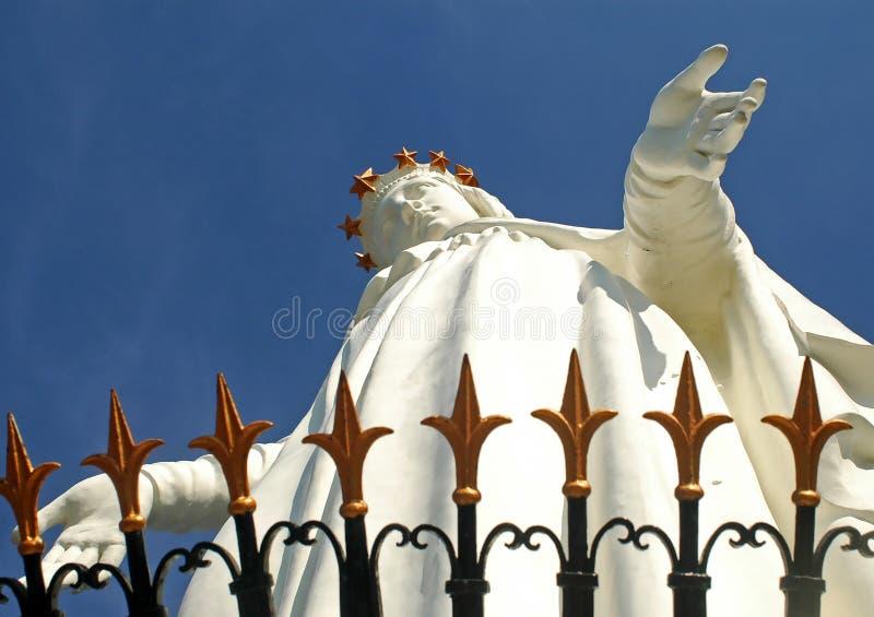 Jungfrau Maria Harissa lizenzfreie stockfotografie