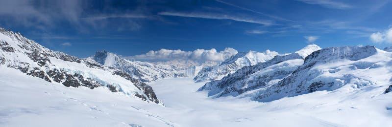 jungfrau region obraz royalty free