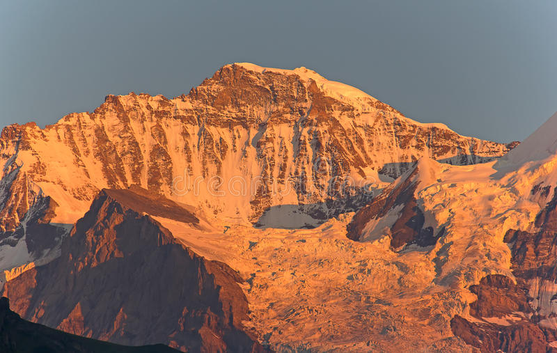 Jungfrau region arkivfoton