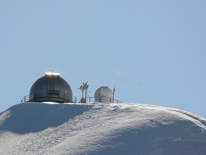 Jungfrau, Svizzera 08/06/2009 Observato astronomico della Sfinge fotografie stock