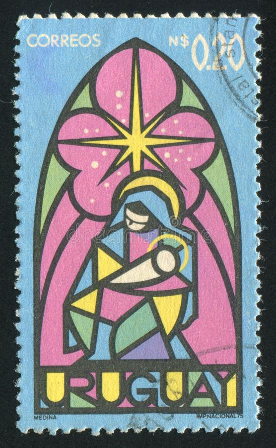 Jungfrau und Kind lizenzfreie stockbilder
