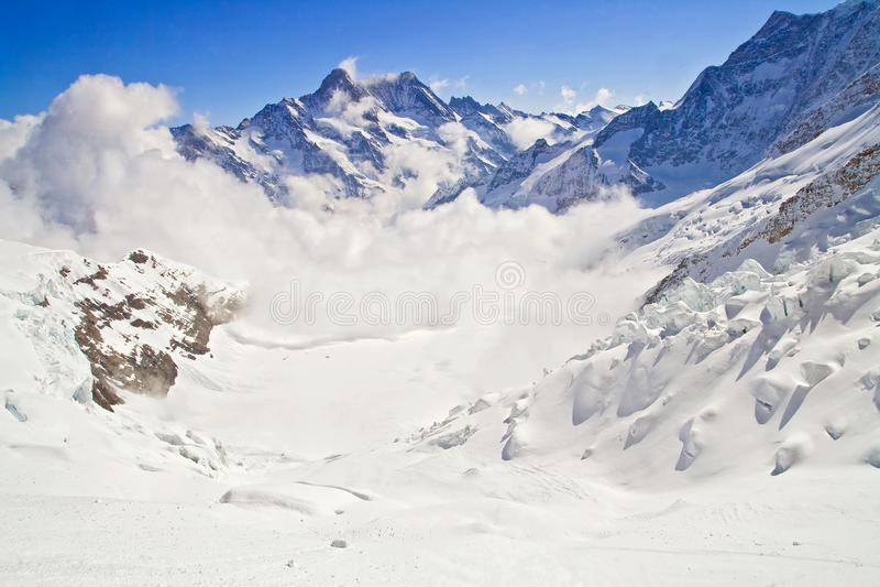 jungfraujoch Ελβετία στοκ φωτογραφία με δικαίωμα ελεύθερης χρήσης
