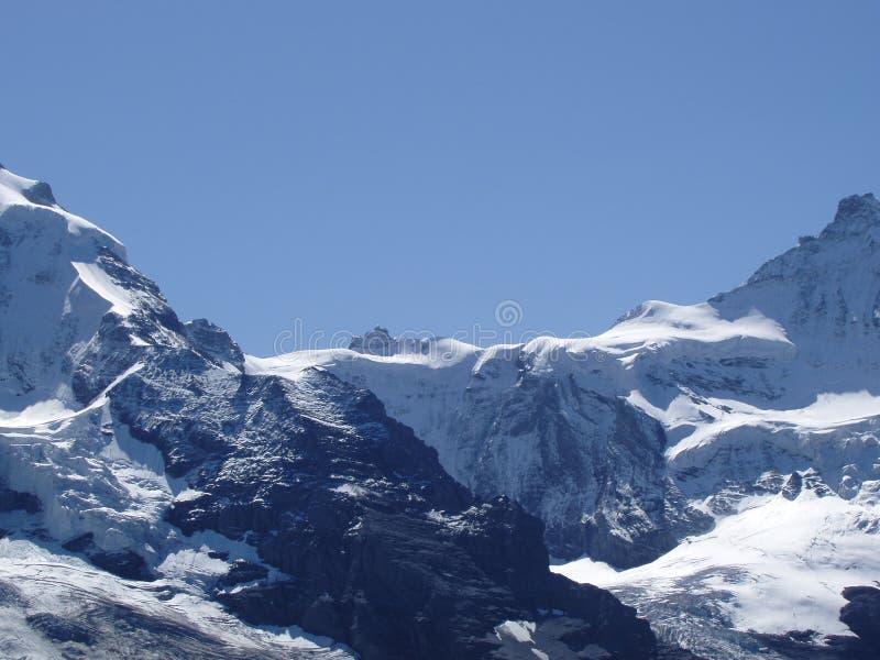Jungfraujoch fotografía de archivo libre de regalías