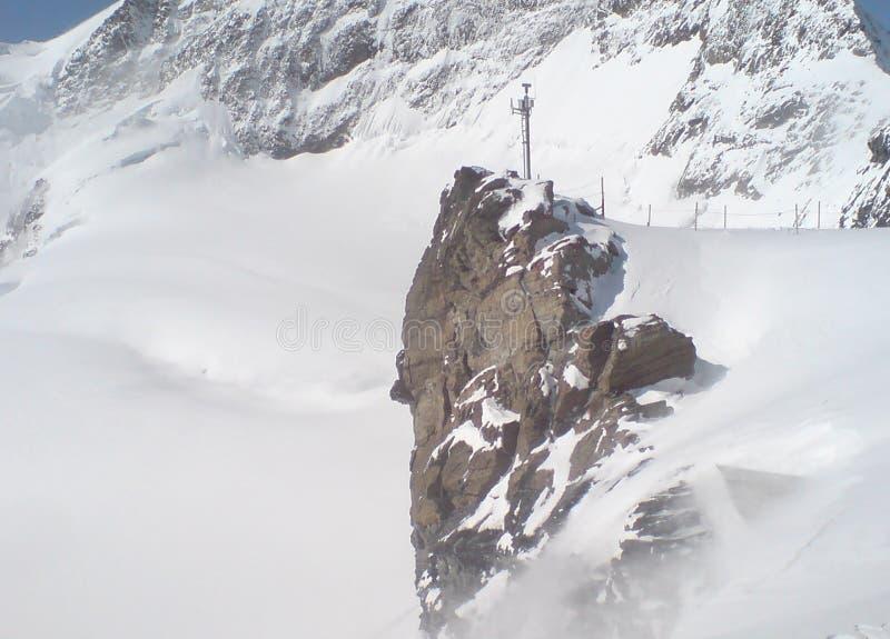 Jungfraujoch obrazy stock
