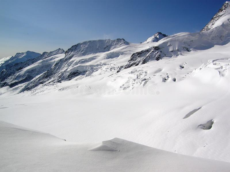 Jungfraujoch fotografie stock