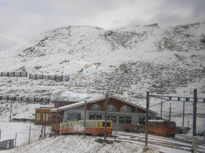 Jungfraujoch fotografia stock libera da diritti