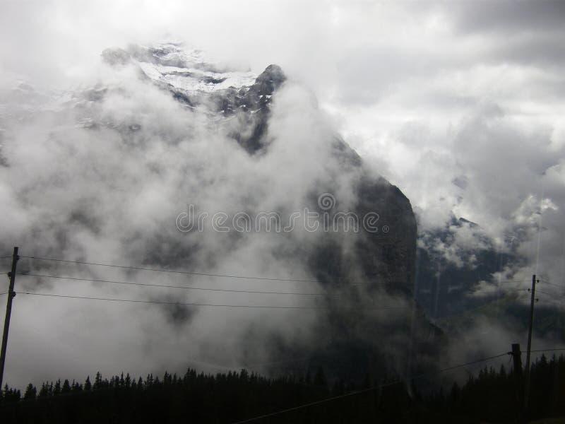 Jungfraujoch fotografia stock