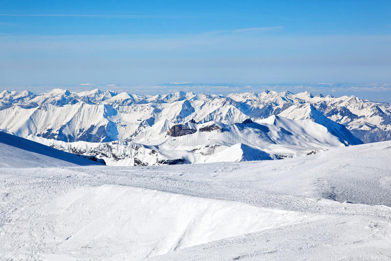 Jungfraujoch, Suiza imagen de archivo