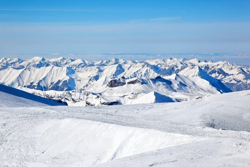 Jungfraujoch, Switzerland stock image
