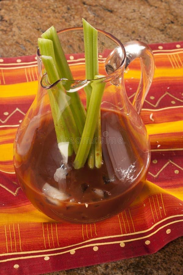 Jungfrulig Bloody Mary arkivbild