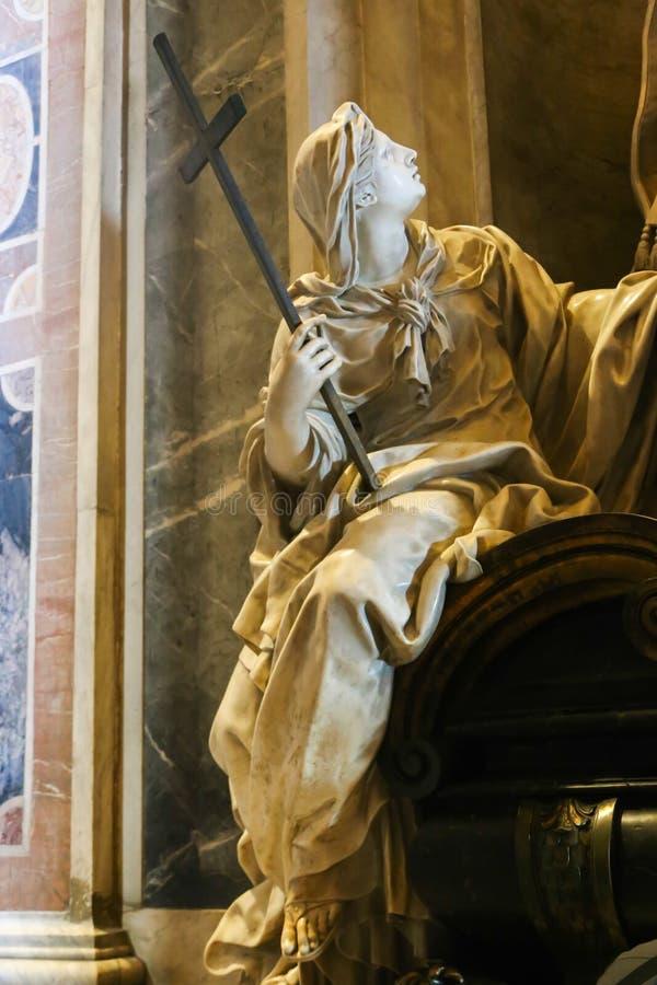 Jungfruliga Mary, Vaticanen, Italien fotografering för bildbyråer