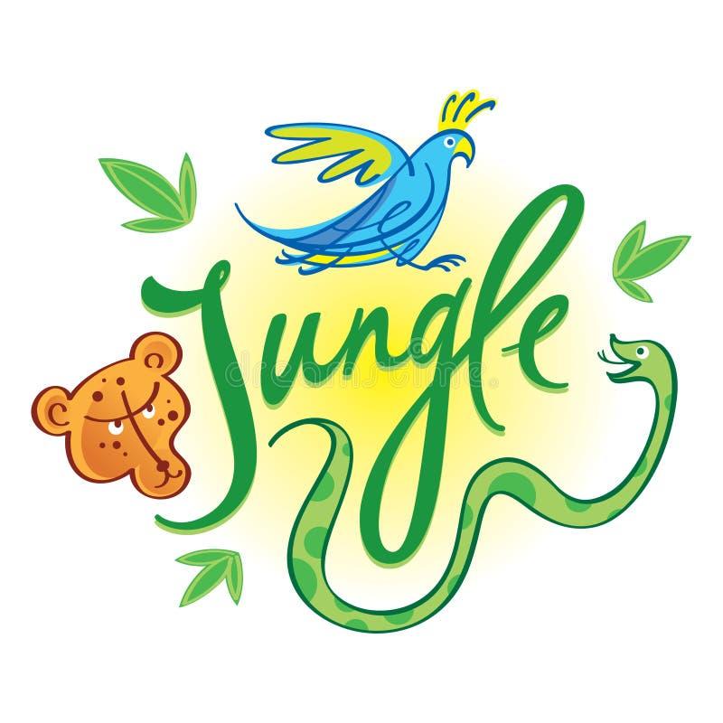 Download Jungle stock vector. Image of safari, predator, africa - 25837043