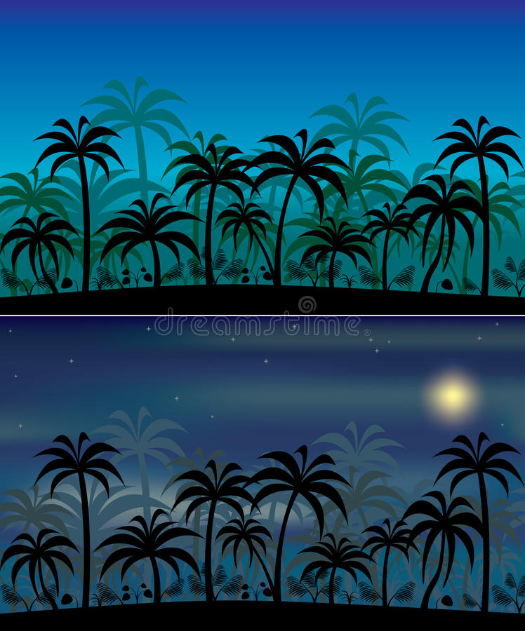 Download Jungle backgrounds stock vector. Image of illustration - 11783765