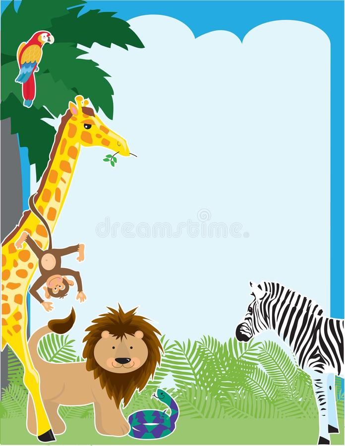 Download Jungle Border Stock Photography - Image: 15475442