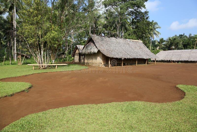 Jungle Bungalow. Traditional Jungle Bungalow in Vanuatu royalty free stock images