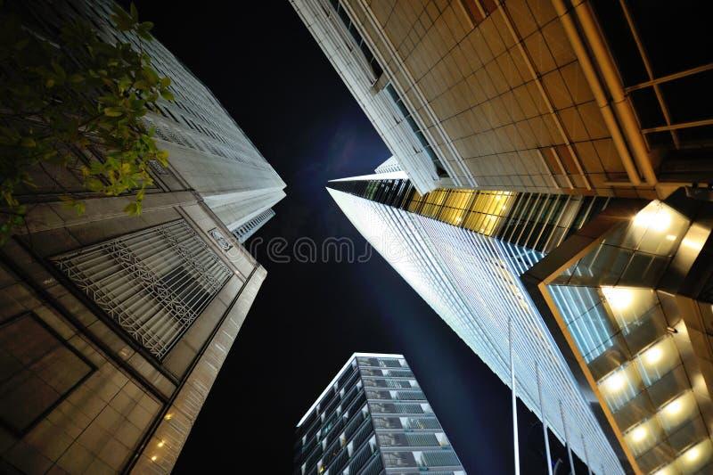 Jungle concrète de Kuala Lumpur photographie stock libre de droits