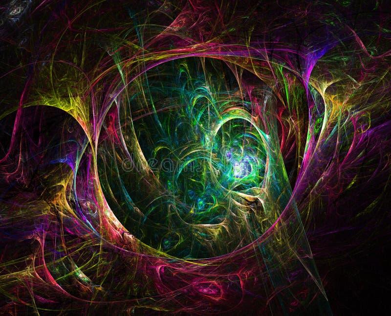 Jungle de fractale illustration de vecteur