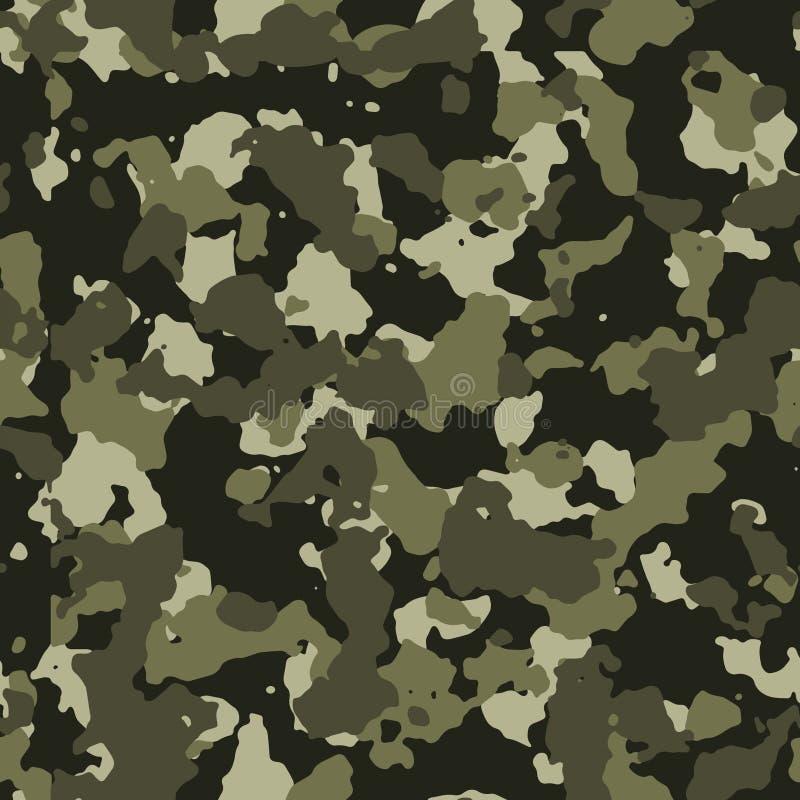 Jungle seamless camo pattern royalty free illustration