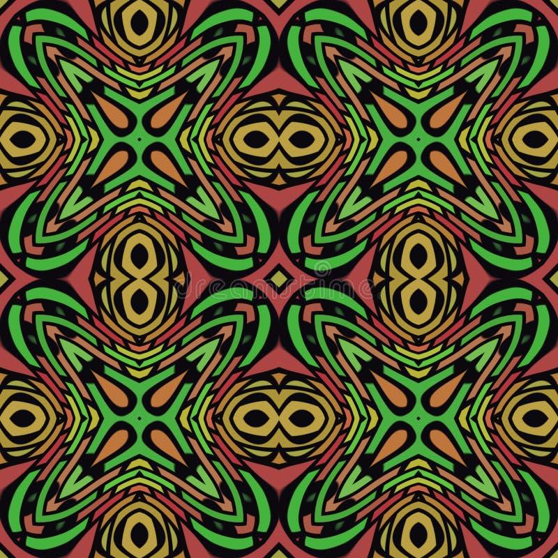 Download Jungle Seamless Pattern stock illustration. Illustration of drawing - 24252171