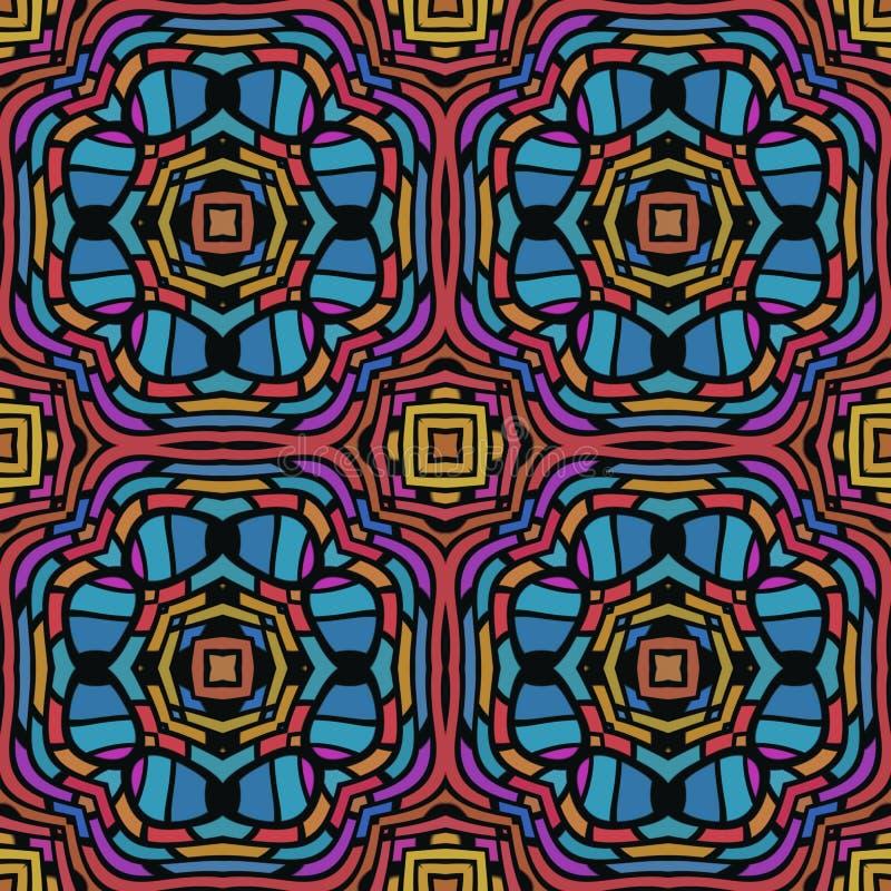Download Jungle Seamless Pattern stock illustration. Image of symmetric - 24252187