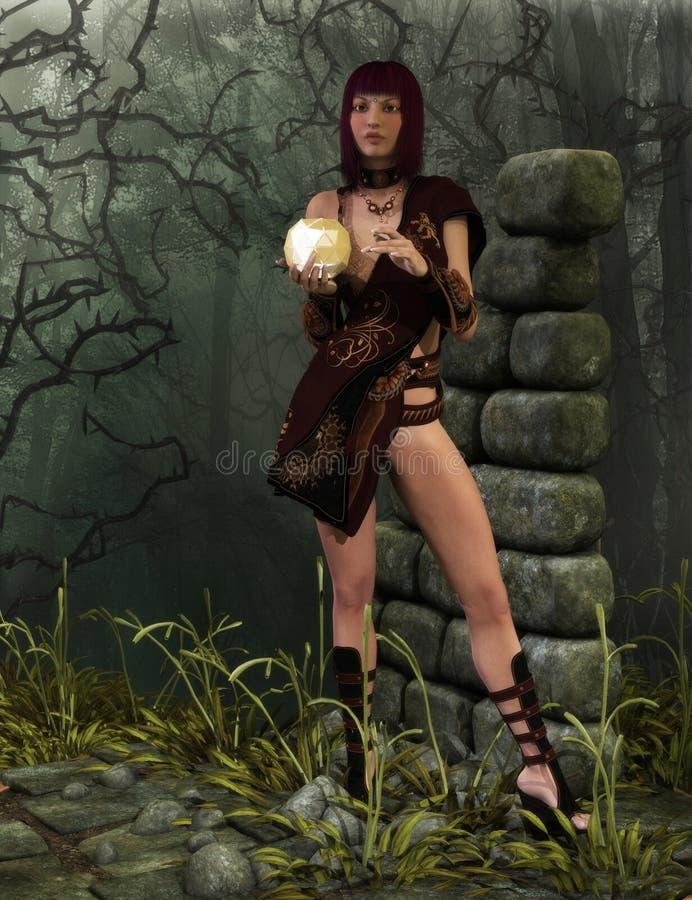 Jungle Warrior stock photo
