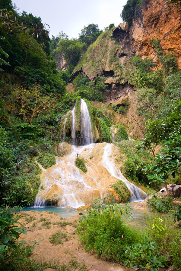 Download Jungle Waterfalls stock photo. Image of wild, blue, nature - 8035788