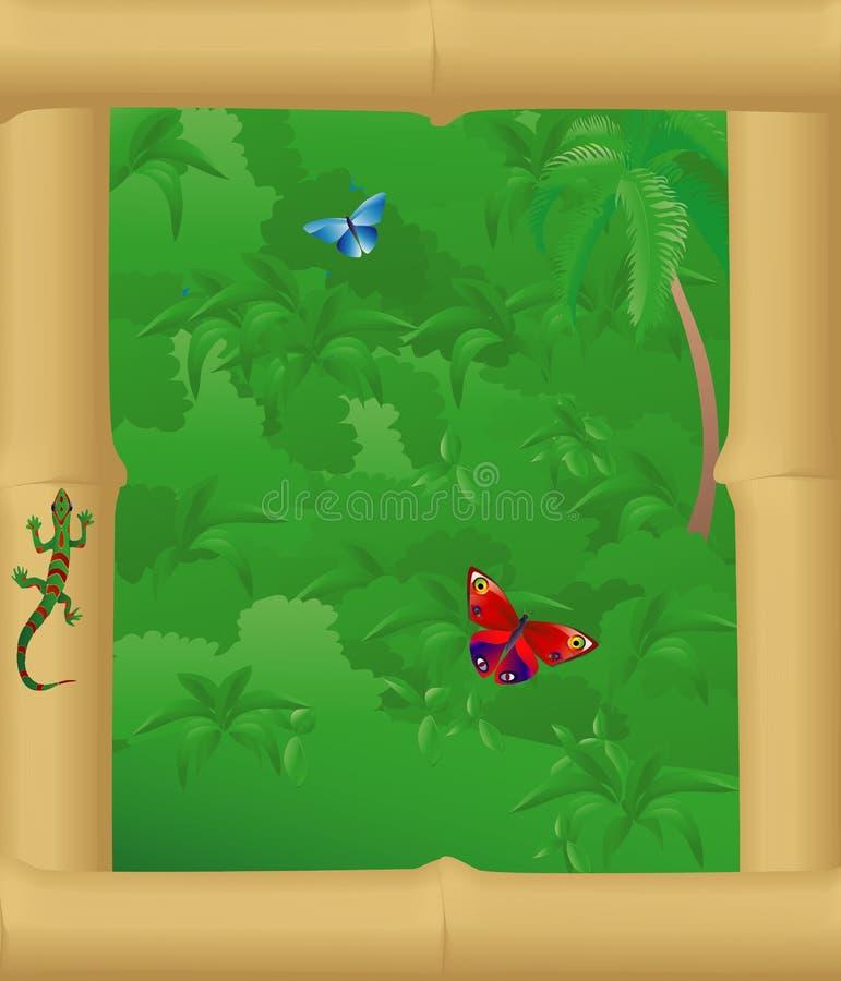 Free Junglewindow Royalty Free Stock Photo - 4348865